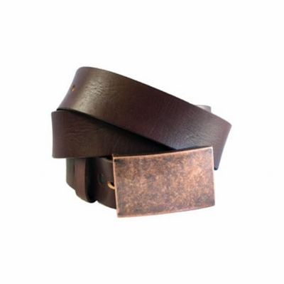 "4140 Men's Casual Leather Belt - 1 1/2"" wide"