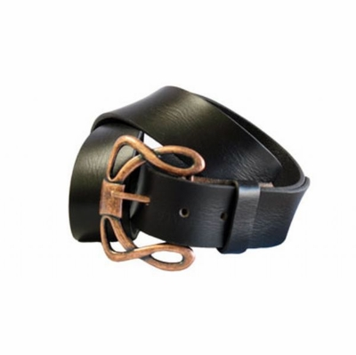 "4142 Vintage full Grain Leather Belt - 1 1/2"" wide"