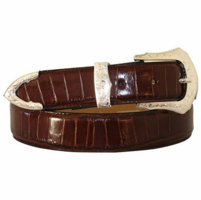 "4196 Calfskin Leather Dress Belt - 1 1/4"" wide"