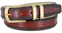 "4240 Dress Leather Belt - 1 1/4"" wide"