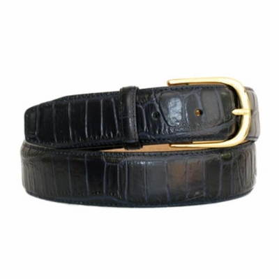 4285 Italian Calfskin Leather Dress Belt