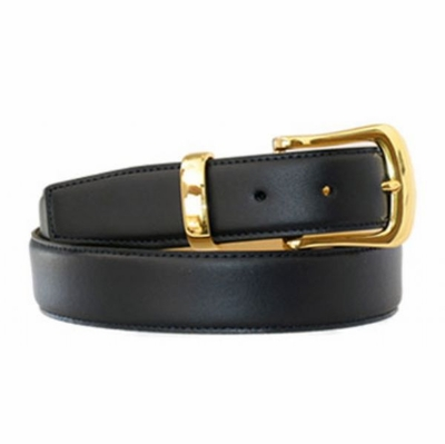 "4301 Calfskin Leather Dress Belt - 1 3/8"" wide"
