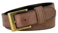 "NEW!!! 4419 Casual Full Grain Leather Belt - 1 1/2"" WIDE - 4 Colors Available"