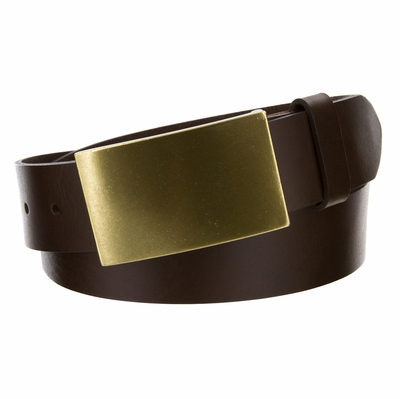 "4421XL Casual Leather Dress  Belt - 1 1/2"" wide"