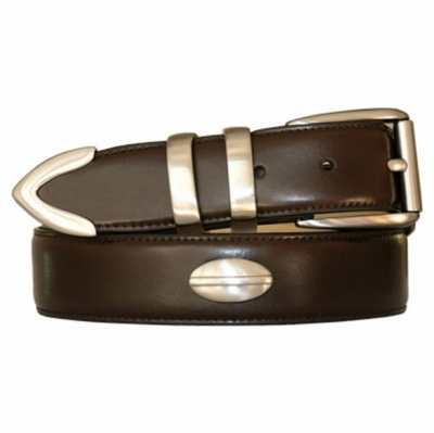 "4501 Calfskin Leather Dress Belt - 1 3/8"" wide"