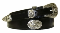 "4523 Ranger Full Grain Leather Belt - 1 1/2"" - 3/4"" Wide"