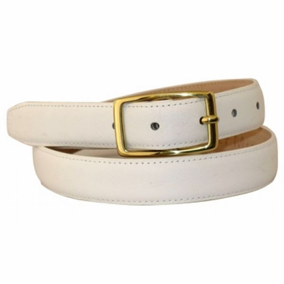 "4541 Leather Dress Belt - 1"" wide"