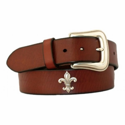 "4562 Casual Full Grain Leather Belt - 1 1/2"" wide"