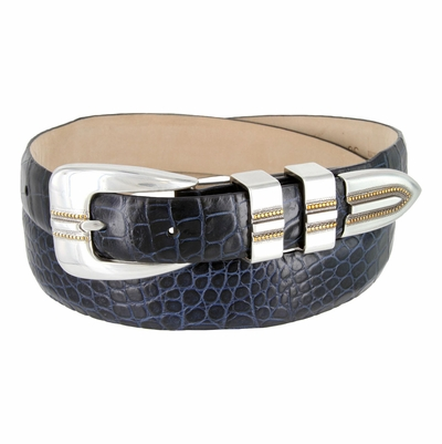 5349 Italian Calfskin Leather Designer Dress Belt