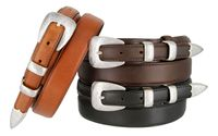 5527 Men's Genuine Leather Ranger Dress Belt