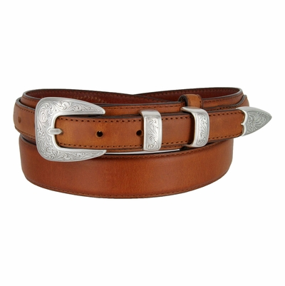 "5527 Ranger Western Dress/Casual Cowhide Leather Belt - 1 3/8"" Wide - Billet 3/4"""