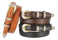 5544 Men's  Leather Ranger Dress Belt