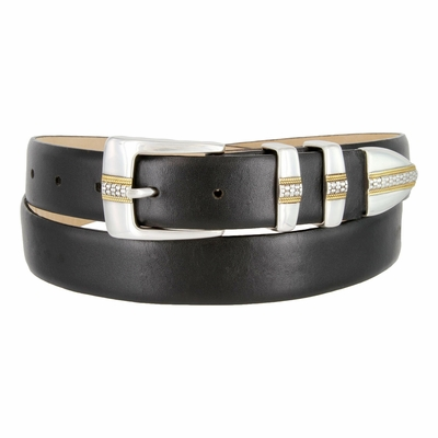 5825G Italian Leather Men's Designer Belt