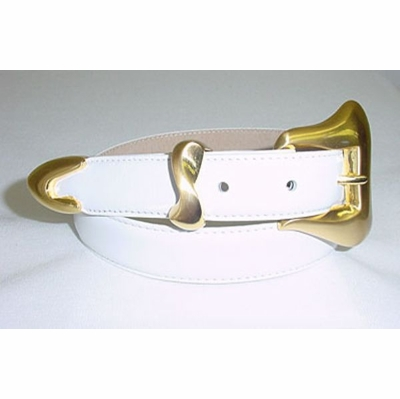 "71 Women's Dress Leather Belt - 1"" Wide"