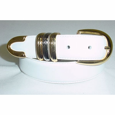 "7230 Italian Calfskin Leather Dress Belt - 1 1/8"" wide"