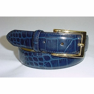 "88 Calfskin Leather Dress Belt - 1 1/8"" wide"