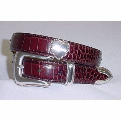 "909 Cowgirl Heart Dress Belt - 1"" wide"