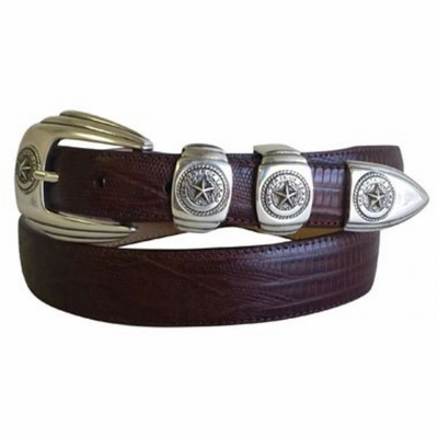 998 Texas Seal Calfskin Leather Dress Belt