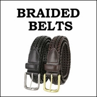 BRAIDED / BASKET-WEAVE BELTS