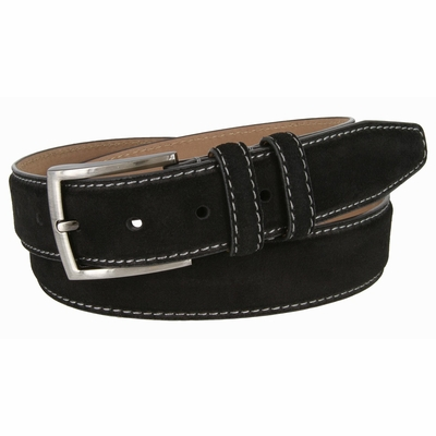 BS 19000 Men's Suede Leather Dress Belt