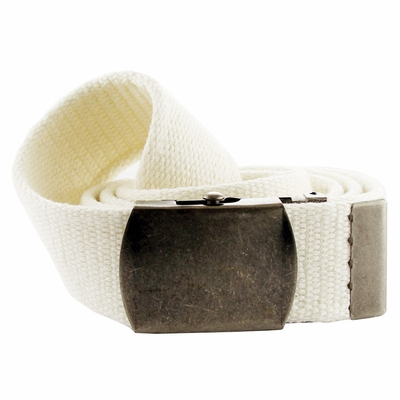 8501 Fabric Web Belt 1. 5 inch wide - White