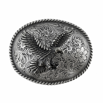 H8170S American Bald Eagle Belt Buckle