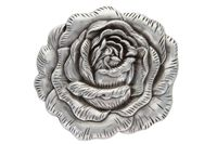 HA-0064 Silver Rose Western Buckle