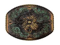 HA0016 Antique Western Belt Buckle