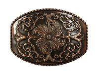 NEW!! HA0016 Antique Copper Western Belt Buckle