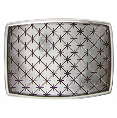 HA1702 English Silver Belt Buckle