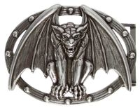 HA1751 Gargoyle Belt Buckle