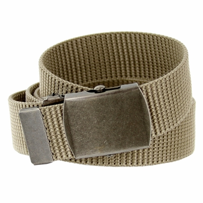 8502 Military Arm Canvas Web Belt 1. 25 inch - Khaki