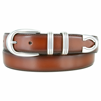 "NEW!!! 2387 Men's Dress Genuine Leather Belt - 1 1/8"" Wide"