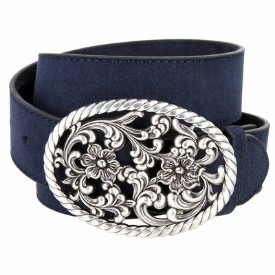 """NEW!!! 2413 Women's Casual Suede Leather Belt - 1 1/2"""" Wide - 8 Colors Available"""