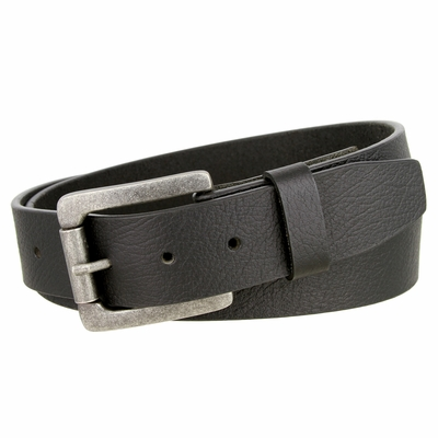 "NEW!!! 3808 Casual Texture One Piece Buffalo Hide Belt - 1 1/2"" WIDE"