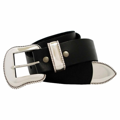 "3906  Western Full Grain Leather Belt 1 1/2"" Wide"