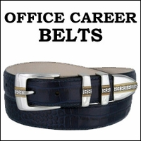 PROFESSIONAL OFFICE CAREER BELTS