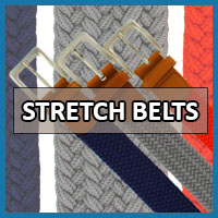 WOVEN STRETCH BELTS