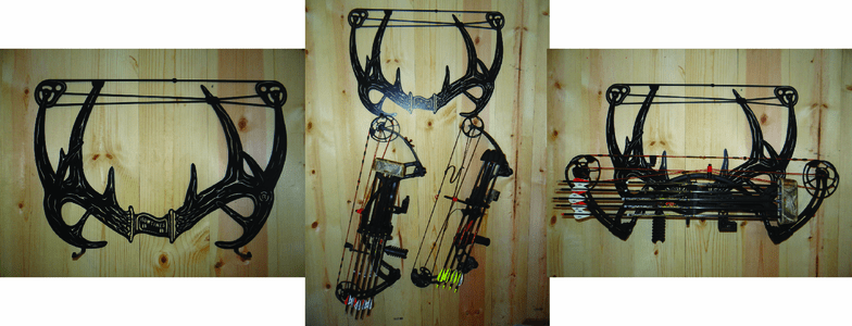 Bow and Key Hangers
