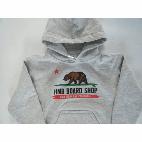 HMB CA Flag Youth Hooded Sweatshirt