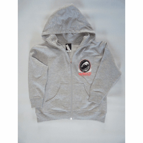 Midnight Barrel Youth Hooded Zip Sweatshirt