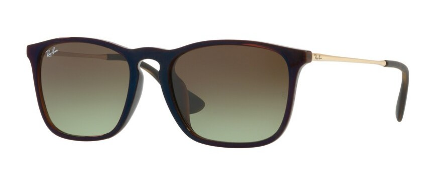 Ray-Ban RB 4274 Havana Rubber/Brown Shaded Polarized 53/18