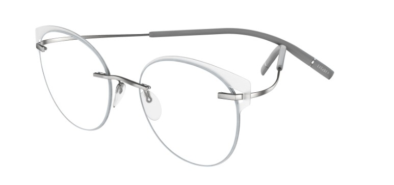 Silhouette Eyeglasses<br>Tma Icon Accent Rings Chassis 5518 Model FV