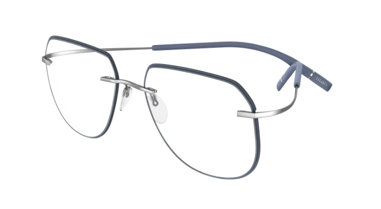 Silhouette Eyeglasses<br>Tma Icon Accent Rings Chassis 5518 Model FY