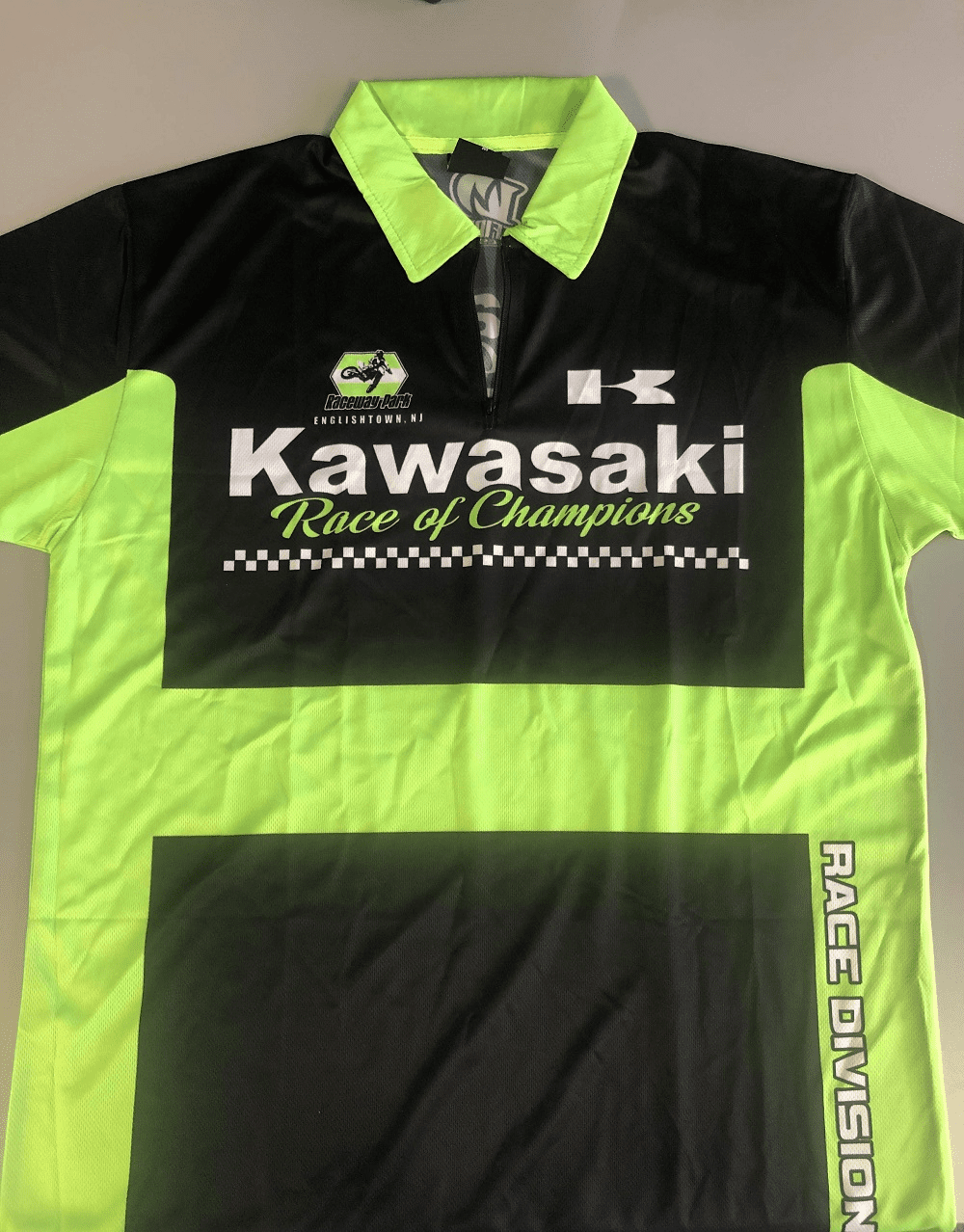 KAWASAKI RACE OF CHAMPIONS CREW SHIRT