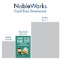 Hilarious Birthday Printed Card From NobleWorksCards.com - 10,000 Steps image 4