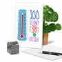 Humorous Milestone Birthday Card From NobleWorksCards.com - 100 In Celsius image 5