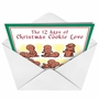 Hilarious Christmas Printed Greeting Card by Daniel Collins from NobleWorksCards.com - 12 Days of Xmas image 2