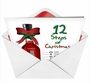Humorous Christmas Paper Greeting Card from NobleWorksCards.com - 12 Steps of Christmas image 2