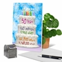 Stylish Milestone Birthday Paper Greeting Card From NobleWorksCards.com - 30 Year Time Count image 6